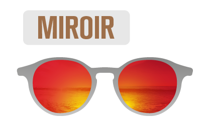 Sunlight Red mirror